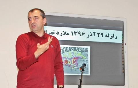 مهدی زارع,امید شهر,زلزله تهران